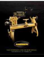 2016 Powermatic Wood Promo Second Semster