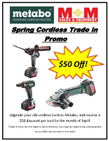 Metabo Trade in Flyer