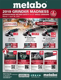 Metabo Promotion - 2019 Grinder Madness