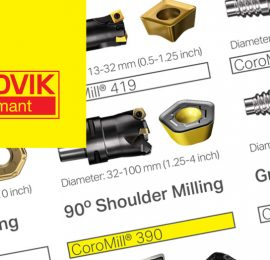 September 2020: Save 50% off Select Sandvik CoroMill Milling Tools